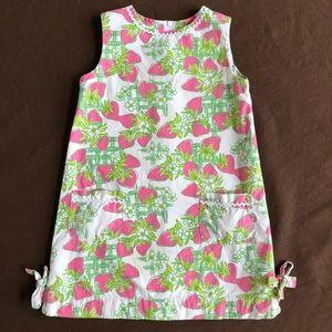 Lilly Pulitzer Dress Strawberry Cream Fraiche 5
